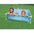Aufstellpool Plaschbecken Intex Mini Frame 122x122x30 cm blau