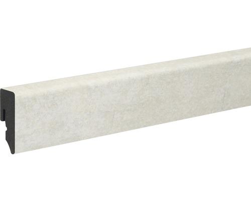 Sockelleiste PVC pore 2 foliert 15x39x2400 mm