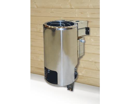 Sauna-Dampfbad-Kombiofen Weka 3,6 kW ohne Steuerung
