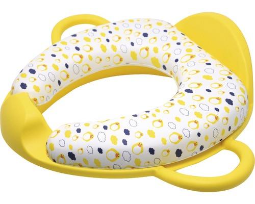 Kinder WC-Sitz-Einlage gelb