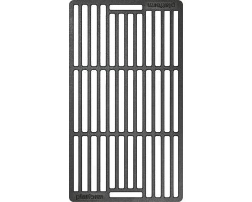 Tenneker® Grillrost Carbon 41,9 x 24 x cm Gusseisen schwarz