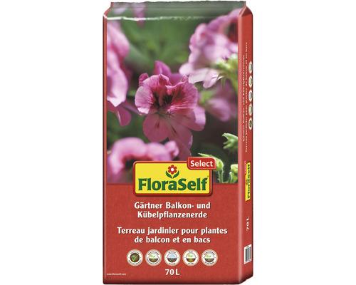 Gärtner-Balkonblumenerde FloraSelf Select, 70 L