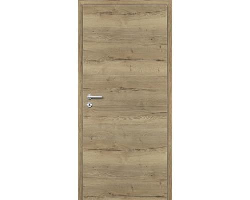 Innentüre DONAU Soft Plus stumpf risseiche 67,2x201,6 cm rechts