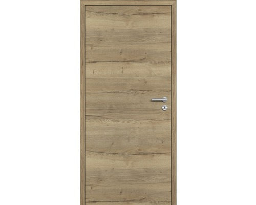 Innentüre DONAU Soft Plus stumpf risseiche 72,2x201,6 cm links