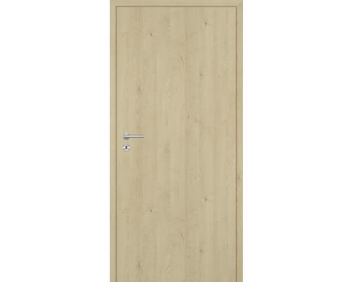 Innentüre DONAU Soft Plus stumpf natura ahorn längs 87,2x201,6 cm rechts