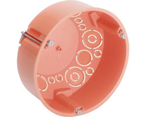 Hohlwandverbindungsdose Ø 120 mm orange