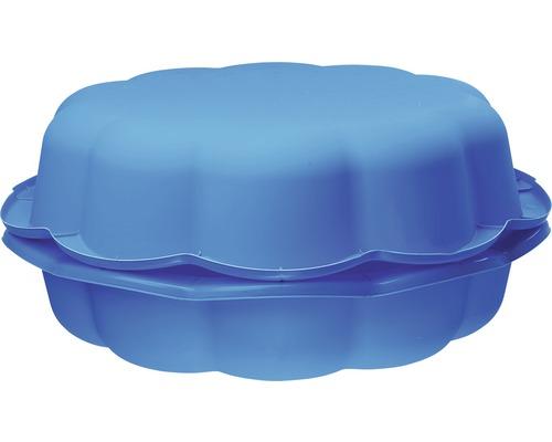 Kinder Sand- und Wassermuschel Kunststoff 94 x 91 x 22 cm blau