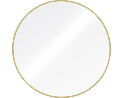 Spiegel Bern Chicago Aluminium rund gold Ø 60 cm