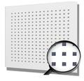 Gipskartonplatte Knauf Plaza Q1 625x625x12,5 mm