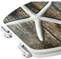 WC-Sitz Form & Style MDF Sculpture Seastar mit Absenkautomartik
