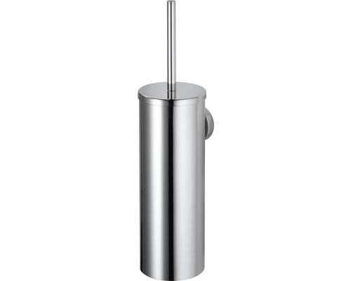 WC-Bürstengarnitur Haceka Kosmos mit Halter geschlossen chrom