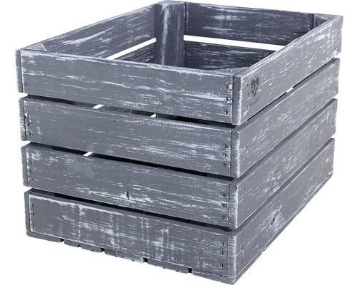 Buildify Kiste grau 44x33x28 cm