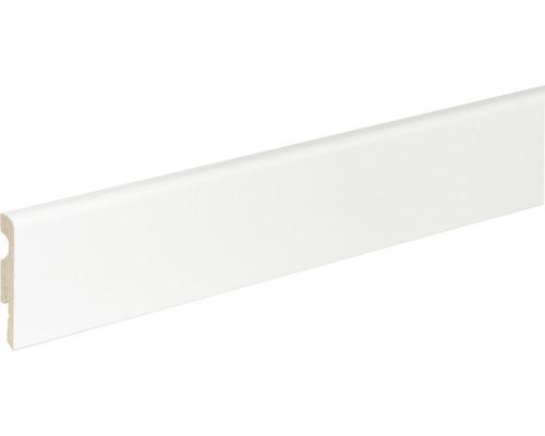 Sockelleiste weiß 10x58x2400 mm