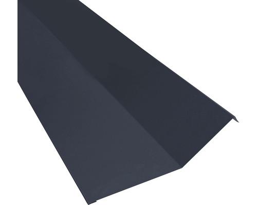 Precit Roof Kappleiste Blech anthrazitgrau 0,5x208x2000 mm