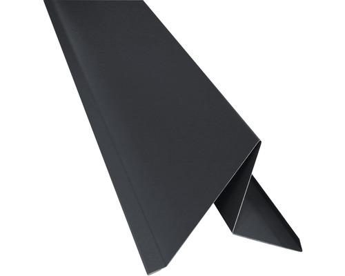 Precit Roof Ortblech mit Wasserfalz anthrazitgrau 0,6x237x2000 mm