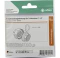 "EPDM-Ring Köro 46x62x2 mm 70 Sh.A für Verschraubung 1 1/2"""