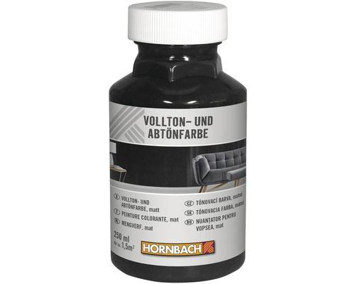 HORNBACH Voll- und Abtönfarbe schwarz 250 ml