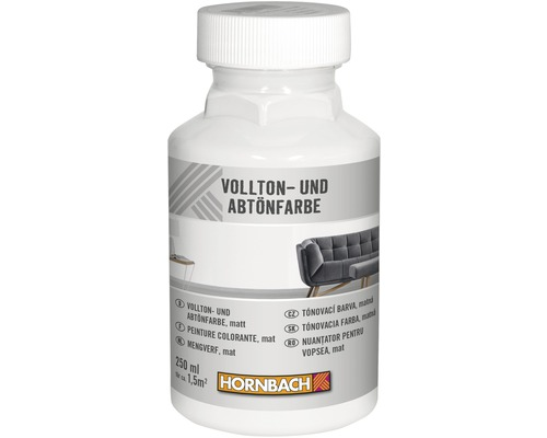 HORNBACH Voll- und Abtönfarbe weiß 250 ml