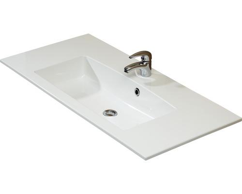 Aufsatzwaschtisch Pelipal Kumba 107x50 cm weiß