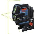 Kreuzlinienlaser Bosch Professional GCL 2-50 G inkl. Stativ BT 150