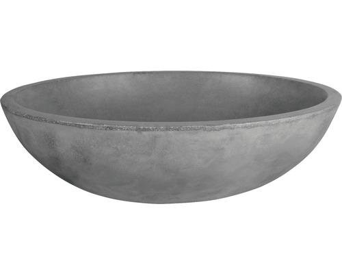 Aufsatzwaschbecken Dias 50x38 cm Beton anthrazit