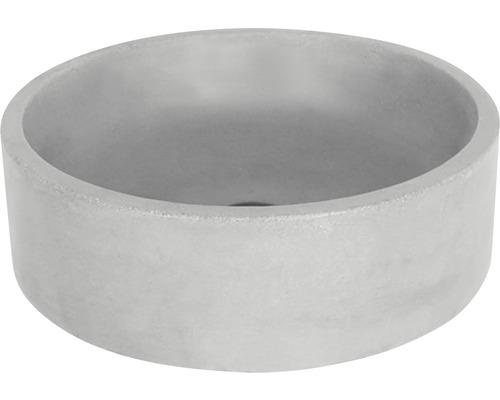 Aufsatzwaschbecken Marba rund 42 cm Beton grau