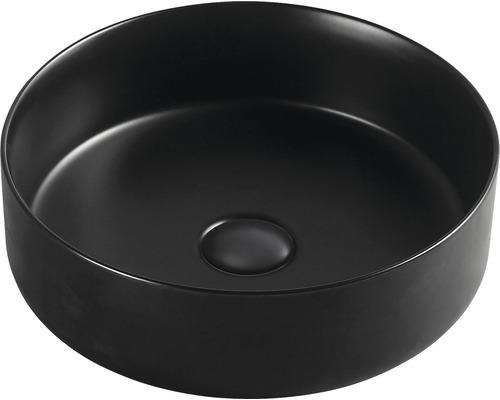 Aufsatzwaschbecken Sanotechnik 40 cm schwarz