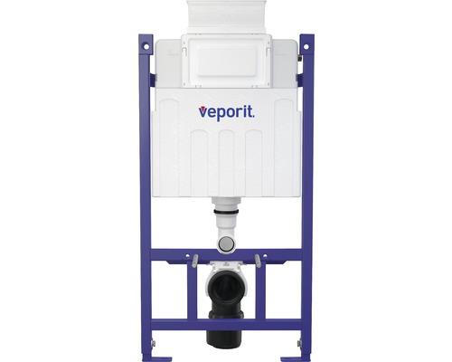 Vorwandelement veporit ICUBOX für Wand-WC VP118/850 H:858 mmBetätigung von vorne und von oben inkl. Einwurfschacht
