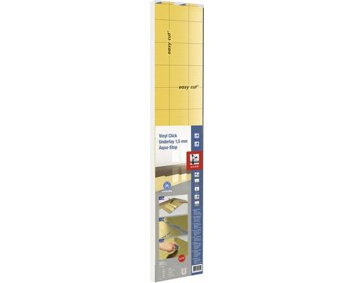 Vinyl-/Designbodenunterlage Vinyl Click Underlay 1,5 mm Aqua-Stop 5,4 m²