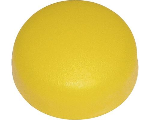Abdeckkappe für Nummernschild gelb, 100 Stück
