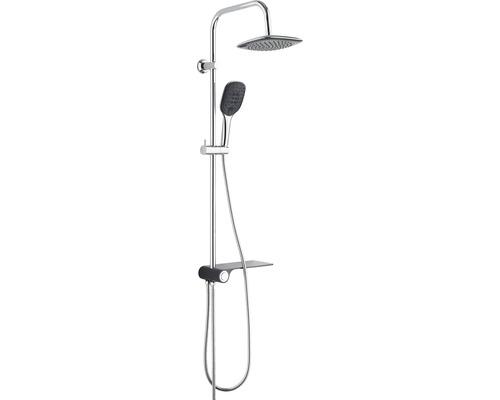 Duschsystem Schütte Aquastar 60511 mit Umsteller und Ablage chrom/anthrazit