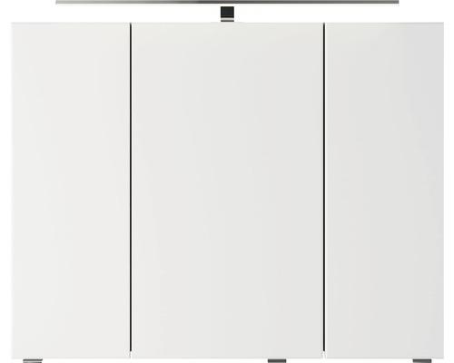 Spiegelschrank Pelipal Xpressline 4035 90x14,5x70,3cm 3-türig hellgrau