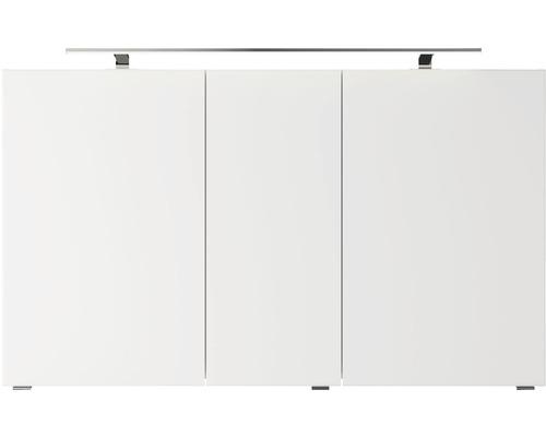 Spiegelschrank Pelipal Xpressline 4035 120x14,5x70,3 cm 3-türig weiß