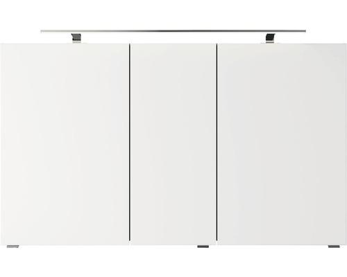 Spiegelschrank Pelipal Jetline 4035 120x14,5x70,3 cm 3-türig hellgrau
