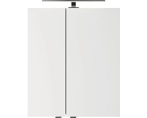 Spiegelschrank Pelipal Xpressline 4035 60x14,5x70,3 cm 2-türig Eiche