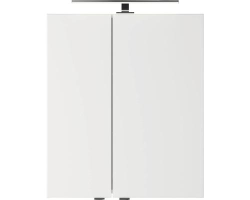 Spiegelschrank Pelipal Jetline 4035 60x14,5x70,3 cm 2-türig weiß