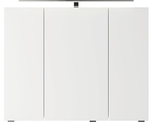 Spiegelschrank Pelipal Jetline 4035 90x14,5x70,3 cm 3-türig weiß