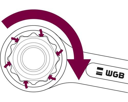 Gabel-Ringschlüssel-Satz WGB, 8-tlg