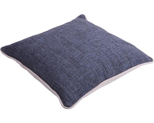 Kissen Leinen blaugrau 45x45 cm