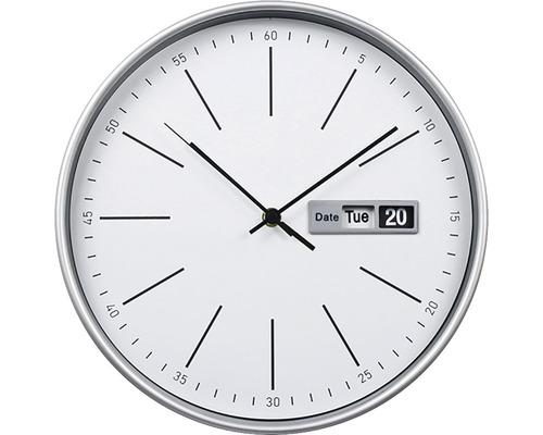 Wanduhr Time weiß Ø 30 cm