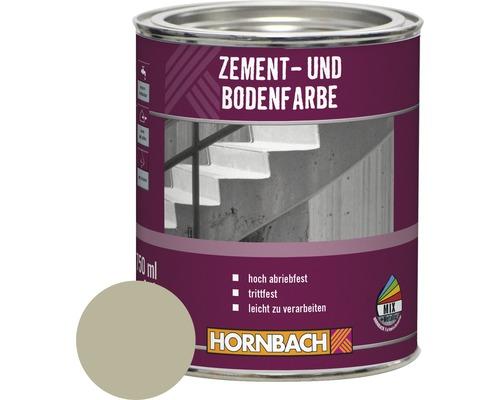 Zement- und Bodenfarbe hellgrau 750 ml