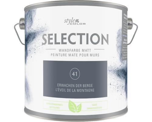 Premium Wandfarbe Style Color SELECTION konservierungsmittelfrei Erwachen der Berge 2,5 L