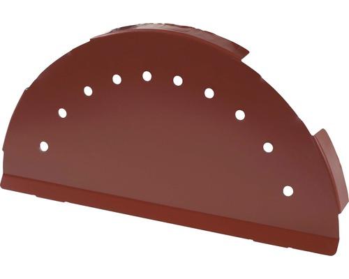 PRECIT Abschlusskappe für Firstblech oxide red RAL 3009 280 mm