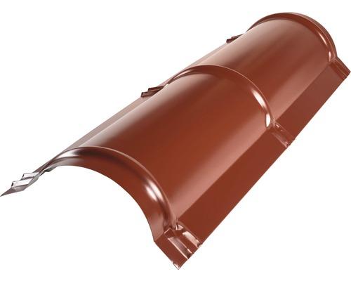 PRECIT Firstblech halbrund oxide red RAL 3009 2 m