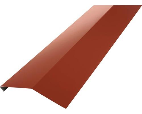 PRECIT Rinneneinhang für Metallziegel oxide red RAL 3009 1 m