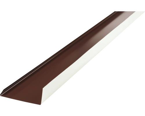 Precit Kantenwinkel Schürze chocolate brown RAL8017 2 m