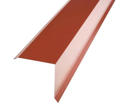 PRECIT Kantenwinkel für Metallziegel oxide red RAL 3009 2000 x 95 x 100 mm