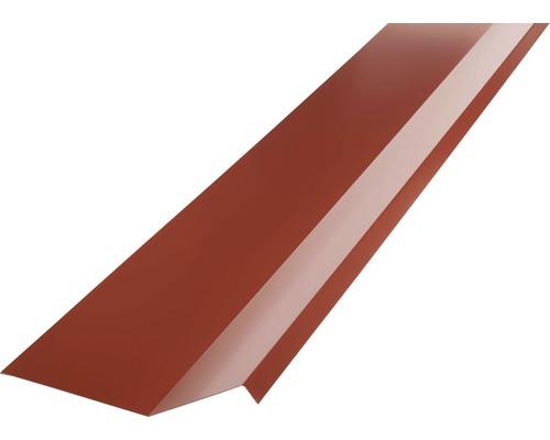 PRECIT Kappleiste oxide red RAL 3009 1000 x 73 x 110 mm