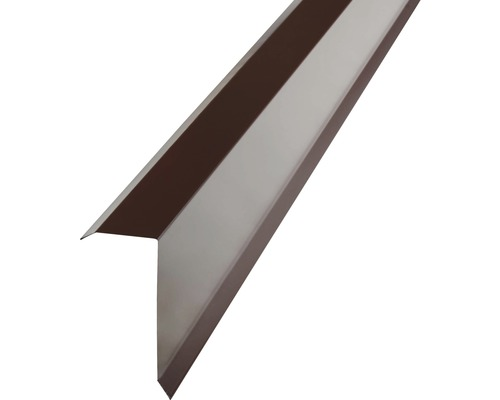 Precit Kantenwinkel H12 chocolate brown RAL8017 2 m