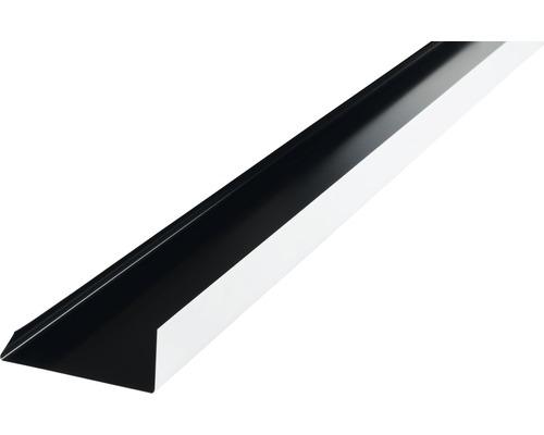 Precit Kantenwinkel Schürze black RAL9005 2 m